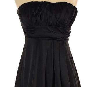 Forever 21 Black Strapless Casual Dress Size:M